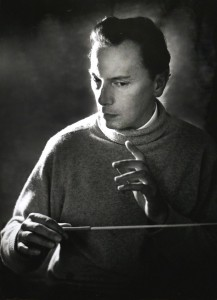 Panufnik 1966 rehearsing the orchestra for the Polish Millennium Concert in London Sir Andrzej Panufnik – Lady Camilla Jessel-Panufnik